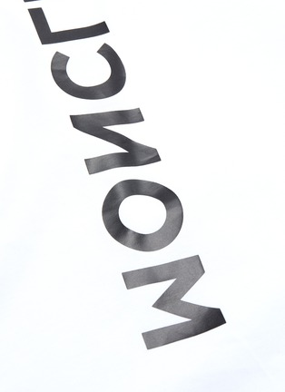 - Moncler Grenoble - logo品牌名称T恤