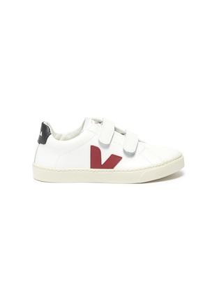 首图 - 点击放大 - VEJA - Esplar儿童款V字拼贴魔术贴搭带真皮运动鞋