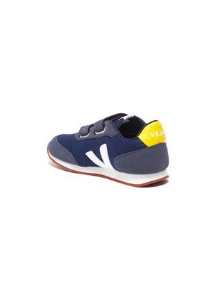 细节 - 点击放大 - VEJA - New Arcade儿童款拼接设计魔术贴搭带运动鞋