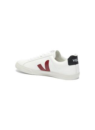 - VEJA - Esplar V字拼贴拼色真皮运动鞋