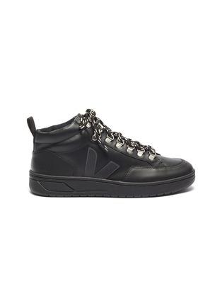 首图 - 点击放大 - VEJA - Roraima Bastille V字拼贴真皮高筒运动鞋