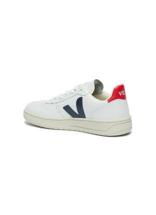 - VEJA - V-10 V字拼贴真皮运动鞋