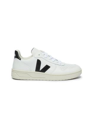 首图 - 点击放大 - Veja - V-10 V字拼贴真皮运动鞋