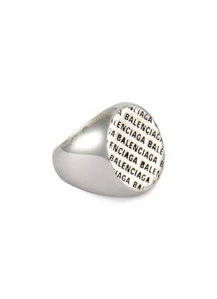 首图 - 点击放大 - Balenciaga - 品牌名称金属戒指