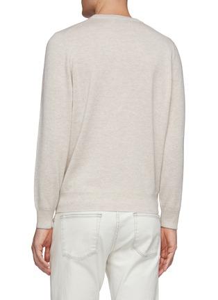 背面 - 点击放大 - Brunello Cucinelli - 羊绒针织衫