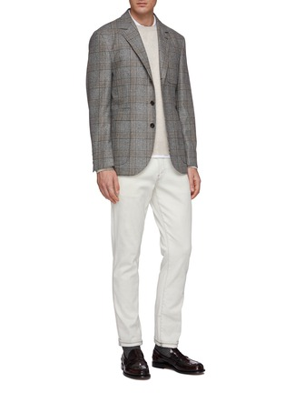 模特儿示范图 - 点击放大 - Brunello Cucinelli - 羊绒针织衫