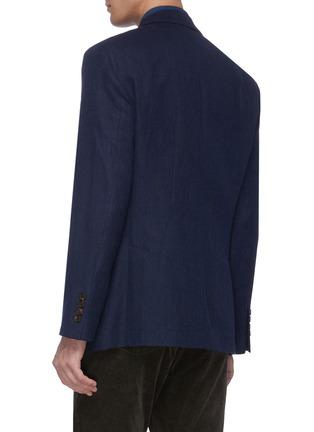 背面 - 点击放大 - Brunello Cucinelli - 羊毛混棉及丝西服外套