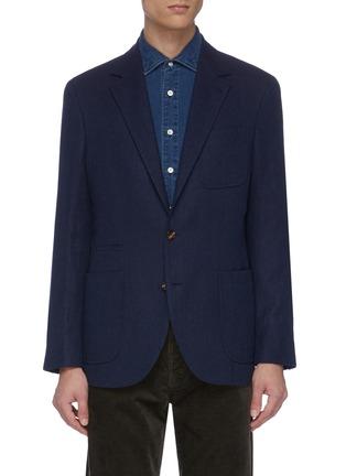 首图 - 点击放大 - Brunello Cucinelli - 羊毛混棉及丝西服外套