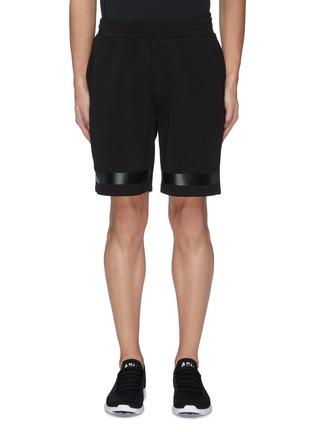 首图 - 点击放大 - Particle Fever - 混棉珠地布条纹功能短裤