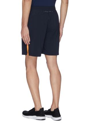 背面 - 点击放大 - Particle Fever - 拼色侧条纹抽绳功能短裤