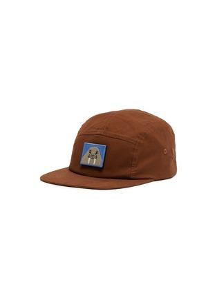 首图 - 点击放大 - Acne Studios - 可拆式动物及表情徽章纯棉棒球帽