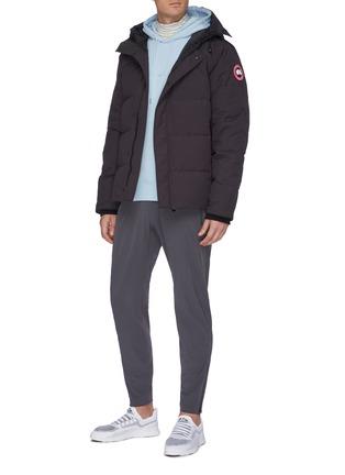 模特儿示范图 - 点击放大 - Canada Goose - Macmillan连帽绗缝羽绒派克大衣
