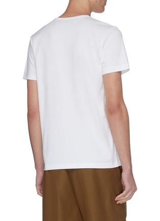 背面 - 点击放大 - JACQUEMUS - Le T-Shirt brodé品牌名称刺绣T恤