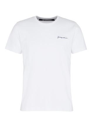 首图 - 点击放大 - JACQUEMUS - Le T-Shirt brodé品牌名称刺绣T恤