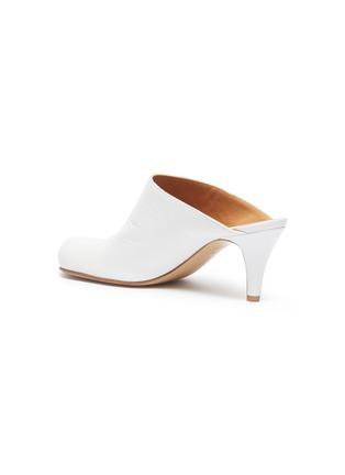 - Bottega Veneta - Bloc方头小牛皮高跟穆勒鞋
