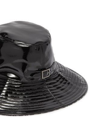 细节 - 点击放大 - ERIC JAVITS - Driptidoo漆皮宽檐帽