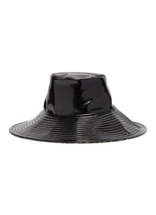 首图 - 点击放大 - ERIC JAVITS - Driptidoo漆皮宽檐帽