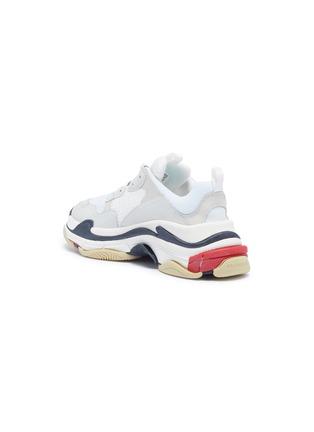 - BALENCIAGA - Triple S拼接设计厚底运动鞋