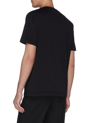 背面 - 点击放大 - BOTTEGA VENETA - 立体人字纹纯棉T恤