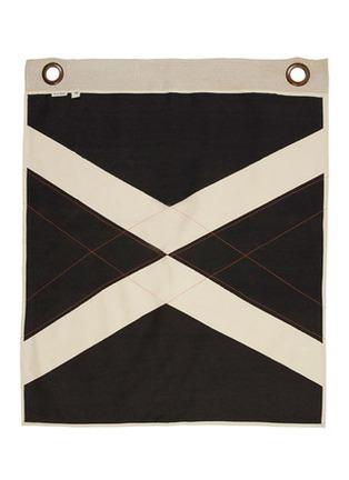 首图 –点击放大 - PONY RIDER - World Flag拼色纯棉帆布挂布