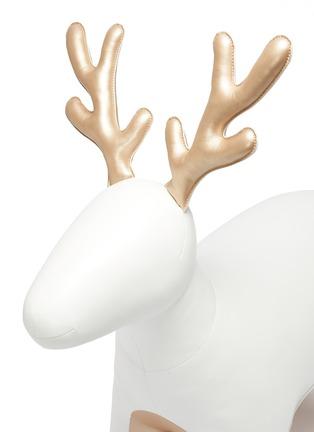 细节 - 点击放大 - Zuny - 巨型驯鹿摆设-白色及金色