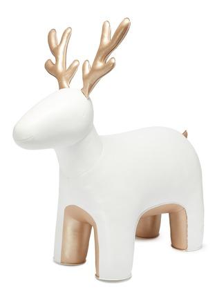 首图 - 点击放大 - Zuny - 巨型驯鹿摆设-白色及金色