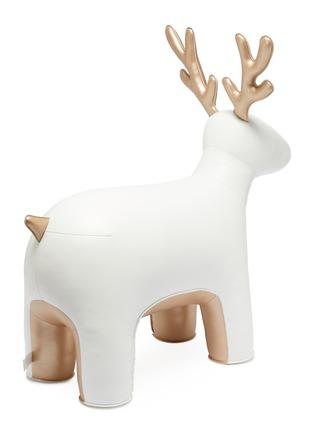 模特儿示范图 - 点击放大 - Zuny - 巨型驯鹿摆设-白色及金色