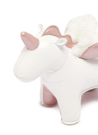 细节 - 点击放大 - ZUNY - 独角兽造型镇纸-白色玫瑰金色