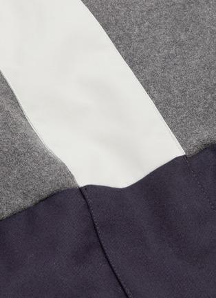 - ERIN SNOW - LOLA拼接设计夹棉功能混美丽诺羊毛连帽滑雪夹克