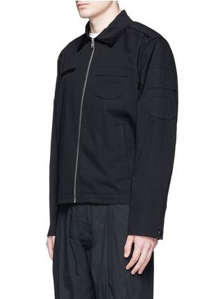 正面 -点击放大 - ALEXANDER WANG - 几何拼贴棉质夹克