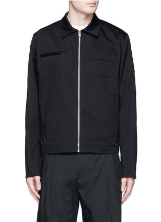 首图 - 点击放大 - ALEXANDER WANG - 几何拼贴棉质夹克