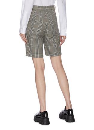 背面 - 点击放大 - MÄRCHEN - 格纹短裤