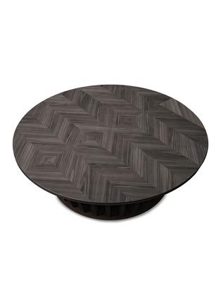 首图 –点击放大 - CIPRIANI HOMOOD - 黑胡桃木金属咖啡桌-深棕色