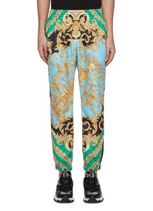 首图 - 点击放大 - Versace - 图腾印花拼色休闲裤