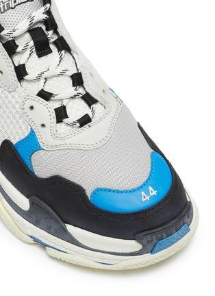细节 - 点击放大 - Balenciaga - Triple S拼接设计厚底运动鞋