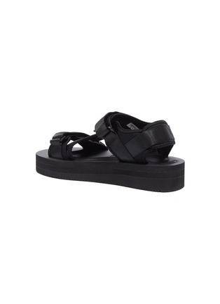 - SUICOKE - KISEE-VPO尼龙搭带厚底凉鞋