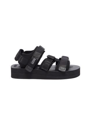 首图 - 点击放大 - SUICOKE - KISEE-VPO尼龙搭带厚底凉鞋