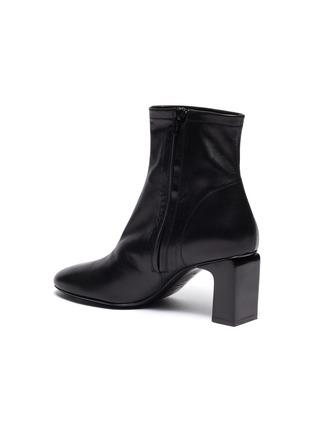 - BY FAR - Vasi矩形跟真皮短靴