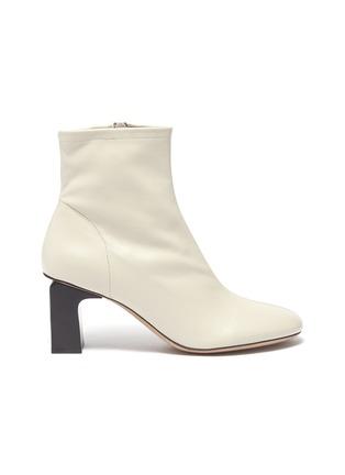 首图 - 点击放大 - BY FAR - Vasi矩形跟真皮短靴