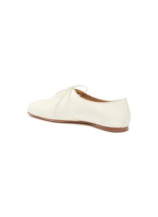 - Gabriela Hearst - Maya蛇纹真皮系带平底鞋
