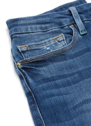 - FRAME DENIM - LE CROP MINI BOOT磨破水洗微喇叭牛仔裤