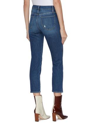 背面 - 点击放大 - FRAME DENIM - LE PIXIE SYLVIE直脚修身水洗露踝牛仔裤