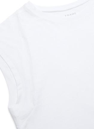 - FRAME DENIM - 修身皮马棉T恤