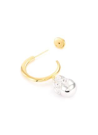 细节 - 点击放大 - J. HARDYMENT - Silver Pearl珍珠造型吊坠黄铜开口圆环耳环