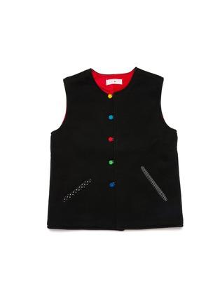 首图 - 点击放大 - TANG'ROULOU - BAO儿童款编织盘扣中式马甲