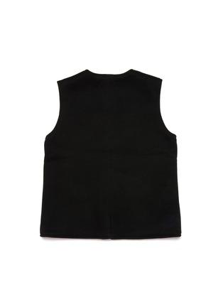 模特儿示范图 - 点击放大 - TANG'ROULOU - BAO儿童款编织盘扣中式马甲