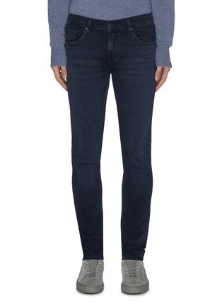 首图 - 点击放大 - J Brand - 水洗修身混棉牛仔裤