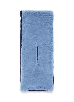 细节 - 点击放大 - HEURUEH - 毛绒质感围巾