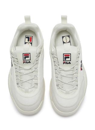 细节 - 点击放大 - FILA - Disruptor II Lite拼接设计厚底运动鞋