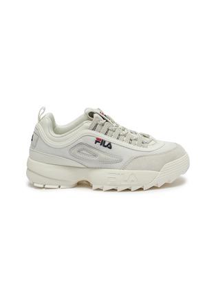 首图 - 点击放大 - FILA - Disruptor II Lite拼接设计厚底运动鞋
